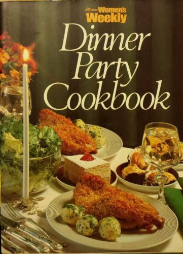 Women-039-s-Weekly-DINNER-PARTY-COOKBOOK-acceptable-cond-FREE-AUS-POST-1991
