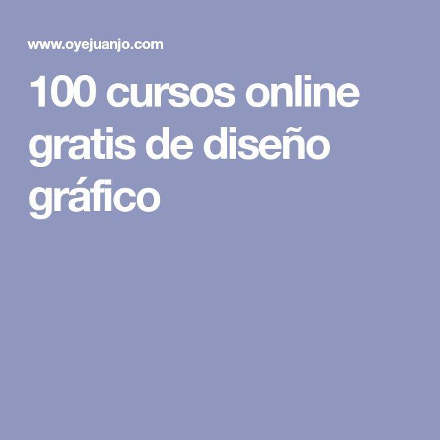 100 cursos online gratis de diseño gráfico