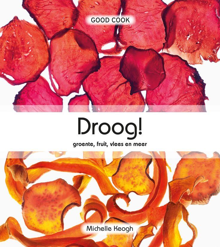 Het thuis drogen van voedsel in de droogmachine neemt enorm in populariteit toe. In Droog! staan de meest verrukkelijke recepten: de welbekende gedroogde tomaten, snoep & chips voor de kids en diverse soorten jerky (gedroogd vlees) als lekkere snack. Maak je eigen chocolade-, fruit- of nootrepen, crackers en toast.  Auteur: Michelle Keogh | ISBN: 9789461431417 | Pagina's: 192 | €17,50