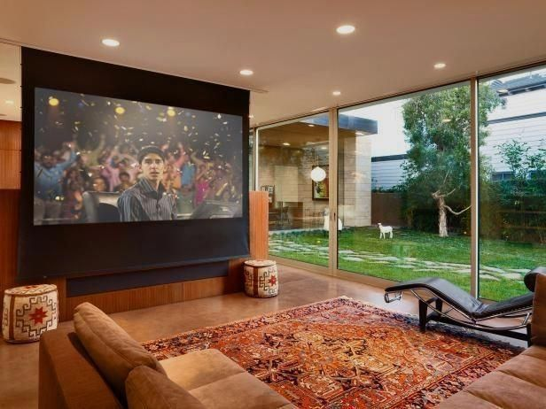 Hgtvremodels Home Theater Planning Guide Describes The Basics Of