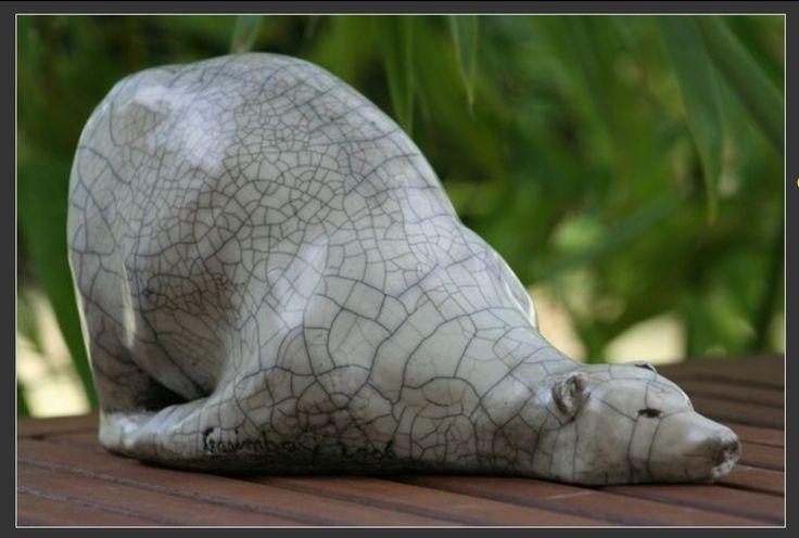 Un ours épuisé ;-)