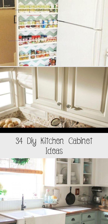 34 Diy Kitchen Cabinet Ideas Cuisine Diy Kitchen Cabinets