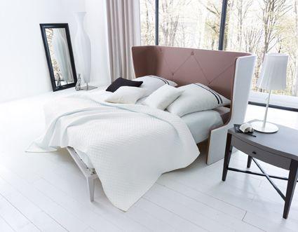 Bed ASTORIA designed by Lorenzo Bellini #SELVA #furniture #Bed