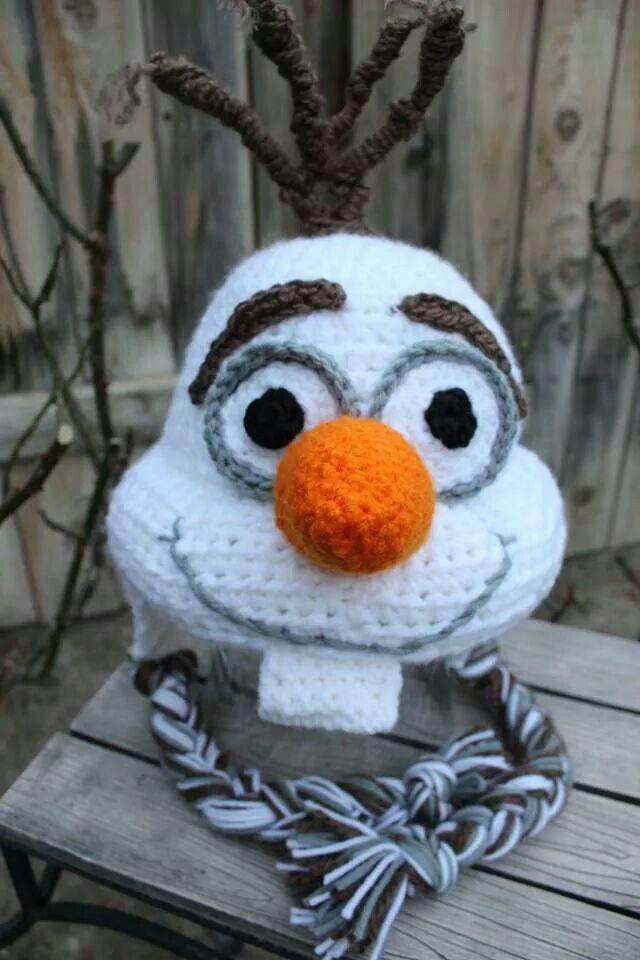 1000+ ideas about Crochet Olaf Hat on Pinterest Crochet Olaf, Olaf Hat and ...