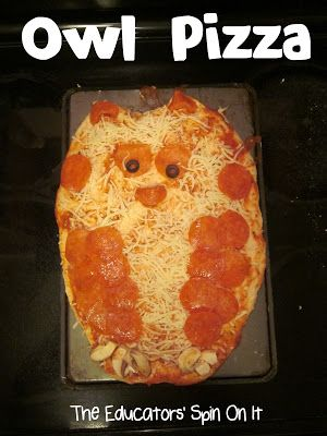 The Educators' Spin On It: Little Hands that Cook with Books: Owl Pizza