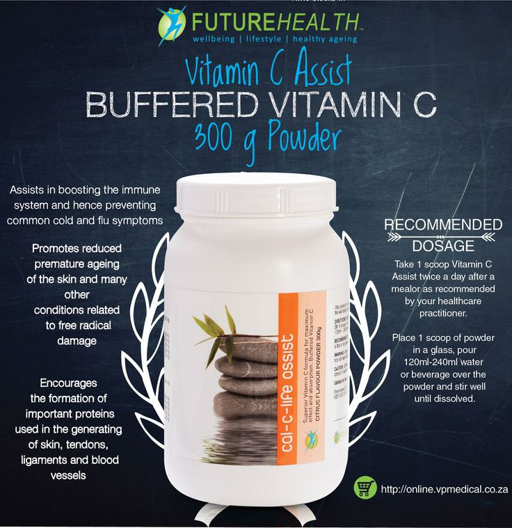 Vitamin C Assist SUPPORTS THE IMMUNE SYSTEM AND CAN PREVENT PREMATURE AGEING OF THE SKIN BUFFERED VITAMIN C Buy online and get 10% off http://online.vpmedical.co.za/index.php?route=product/category&path=64 #Vitamins #Minerals #VitaminC #futurehealthsa