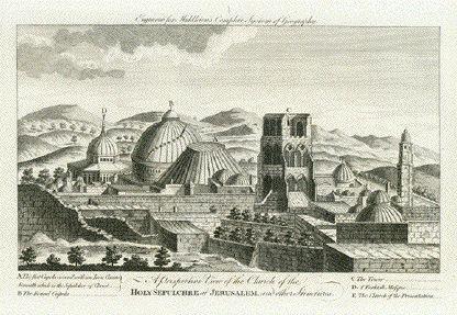 Antique Prints of Jerusalem