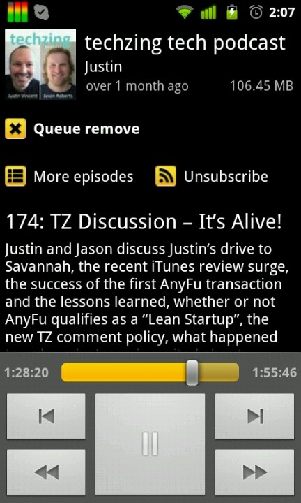 Entreporn is born. Jason came up with the name, not Justin. A few seconds after the time in the screenshot.