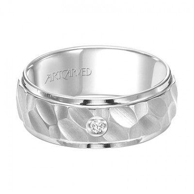 ArtCarved Tungsten Wedding Ring   Artcarved  JR Jewelers