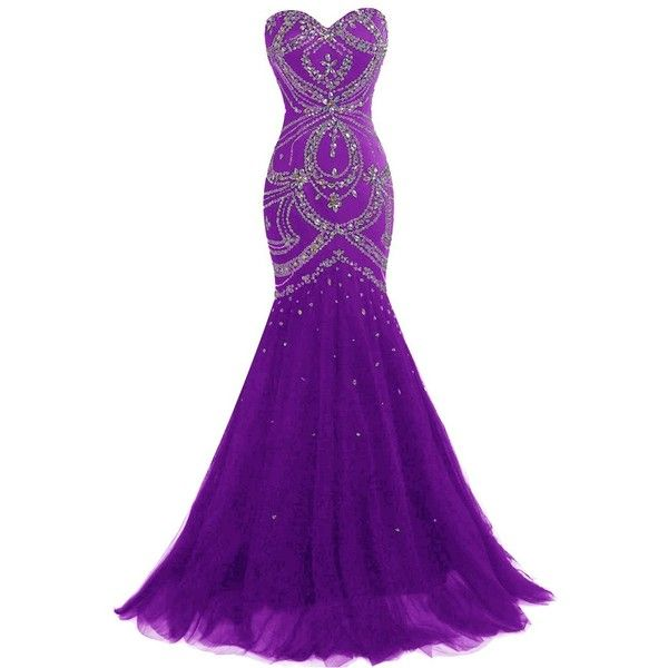 Prom Dresses 2018 Long Purple 20