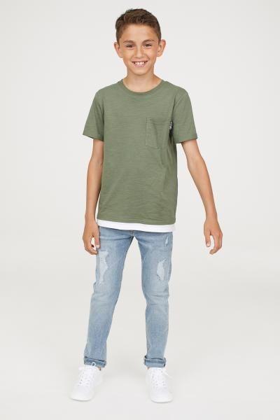 ab24b34b3 Superstretch Skinny Fit Jeans - Light denim blue - Kids | H&M US 1 ...