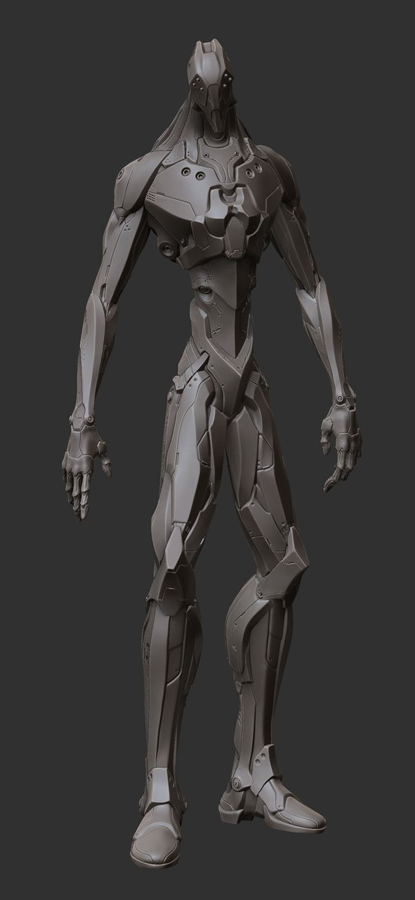 Character Design Zbrush : Best zbrush mech and robot images on pinterest