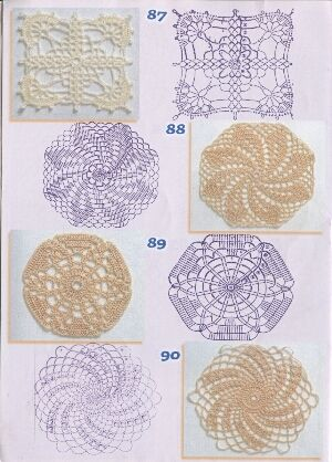 Hooked On Crochet : Hooked on crochet- lots more! Crochet patterns Pinterest