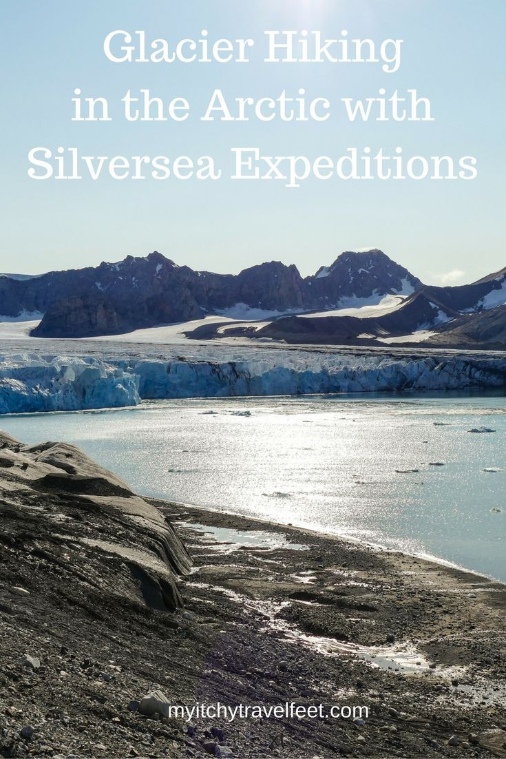 Hiking to 14th July Glacier in Svalbard, Norway, is one of the highlights of an Arctic Cruise on Silver Explorer. If you enjoy hikes and glaciers, add this one to your boomer travel bucket list. Click through to read about our experience hiking the glacie