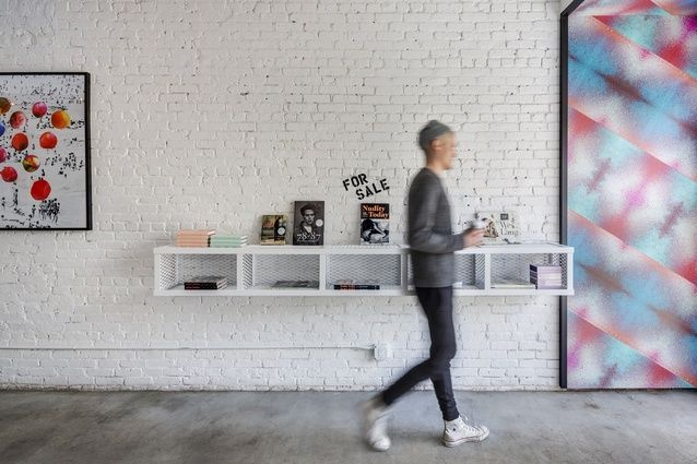 The space sells vinyl from Flying Nun Records and independent art and design publications.