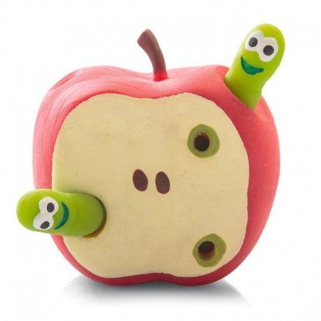 Jabłko z robaczkami