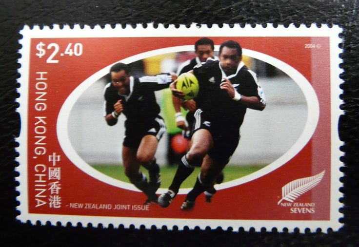 Hong Kong - New Zealand joined issue 2004 For more #rugby collectables check out my blog: www.rocky-rugby.com/