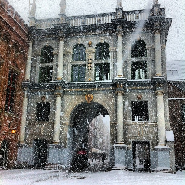 The Golden Gate - Złota Brama w Gdańsku #igersgdansk #gdansk #pomorskie #poland #zima #winter