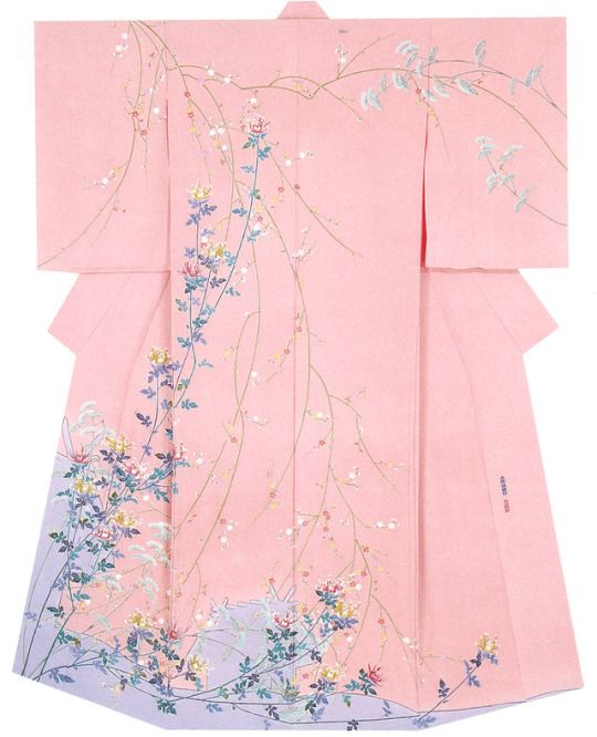 Kaga-Yuzen Kimono Yuzo Miyano