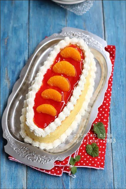 Catatan Nina: CHEDDAR CHEESE CAKE