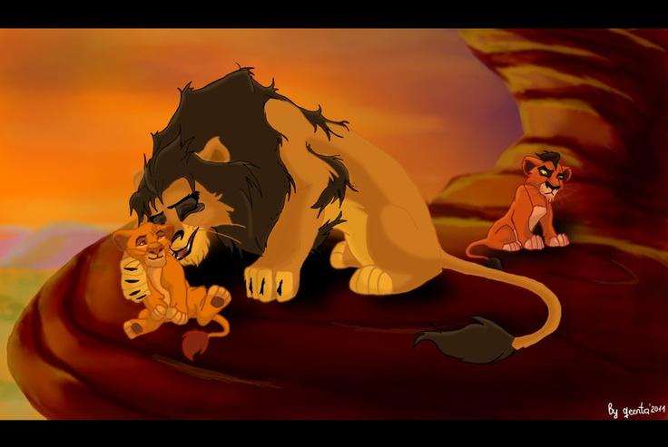 ahadi mufasa and taka   Lion King   Pinterest
