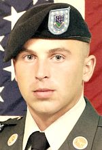 Army SSG Kenneth K. McAninch, 28, of Logansport, Indiana. Died October 21, 2010, serving during Operation Enduring Freedom. Assigned to 1st Battalion, 506th Infantry Regiment, 4th Brigade Combat Team, 101st Airborne Division (Air Assault) Fort Campbell, Kentucky. Died of wounds sustained when hit by enemy small-arms fire at Forward Operating Base Sharana, Afghanistan.