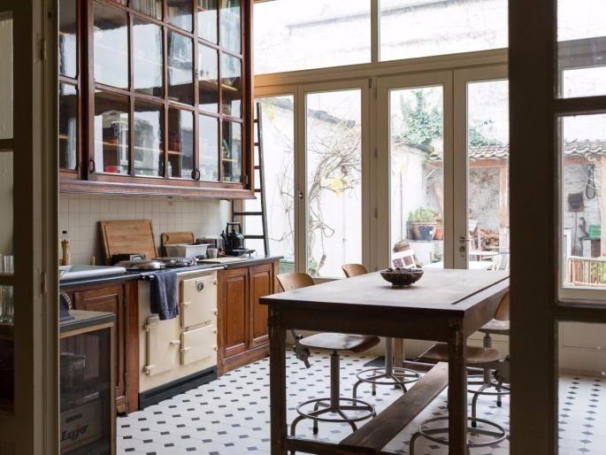 25 beste idee n over herenhuis op pinterest moderne architectuur moderne huizen ontwerpen en - Deco keuken oud land ...