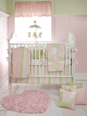 Baby Nurseries Pink Green