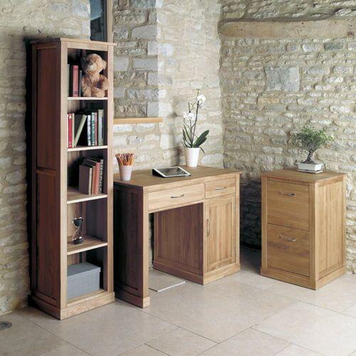 narrow oak bookcase cor01d3