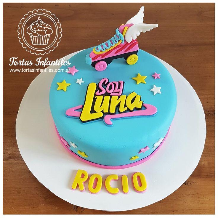 Torta de Soy Luna con Patin