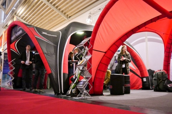 ISPO 2013 | X-GLOO 5x5 and 6x6 with Canopies