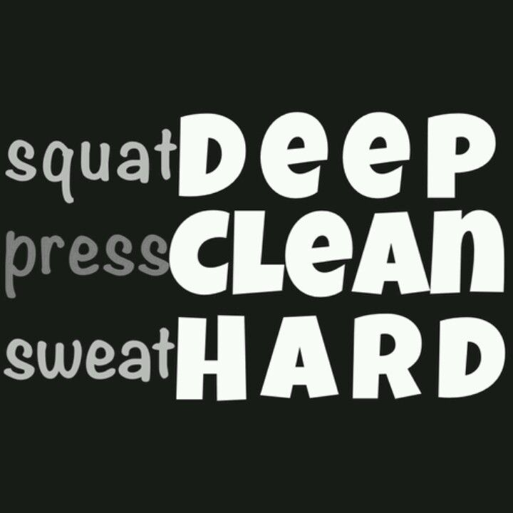 Sweat hard and make angels