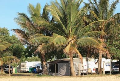 Cotton Tree Caravan Park, Cotton Tree