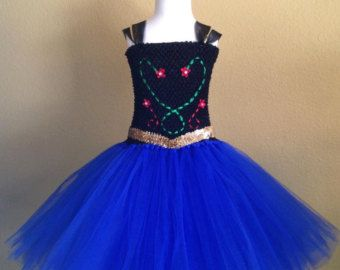 Simply Beautiful Anna inspired tutu dress. by TuTuGenie on Etsy