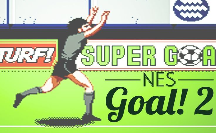 One of the best looking games on NES. Used to played the hell out of it as a kid. Now I was kinda shocked how difficult it is :) #nes #goal2 #ericcantona #retrogaming #retrosoccergamer