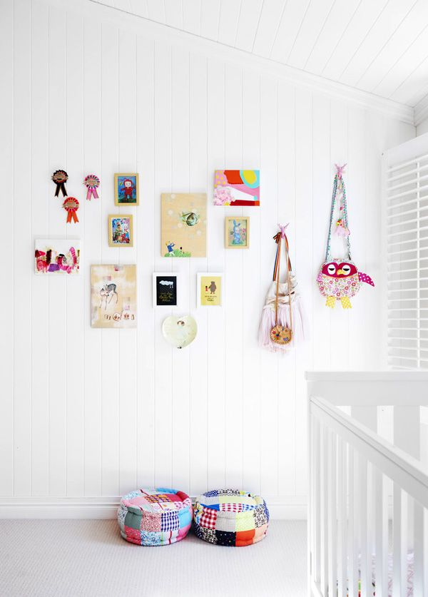 Colorful and cute on crisp white - perfect for the kids