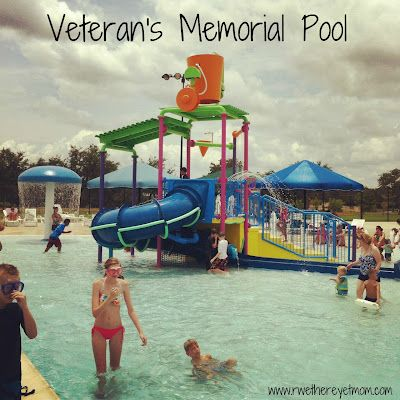 Veteran's Memorial Pool ~ Cedar Park, Texas - R We There Yet Mom? | Family Travel for Texas and beyond...