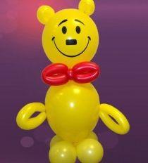 Медвежонок Пузяша из воздушных шаров http://airfriend.ru/products/4099280
