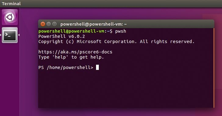 Microsoft has released its command-line shell and scripting