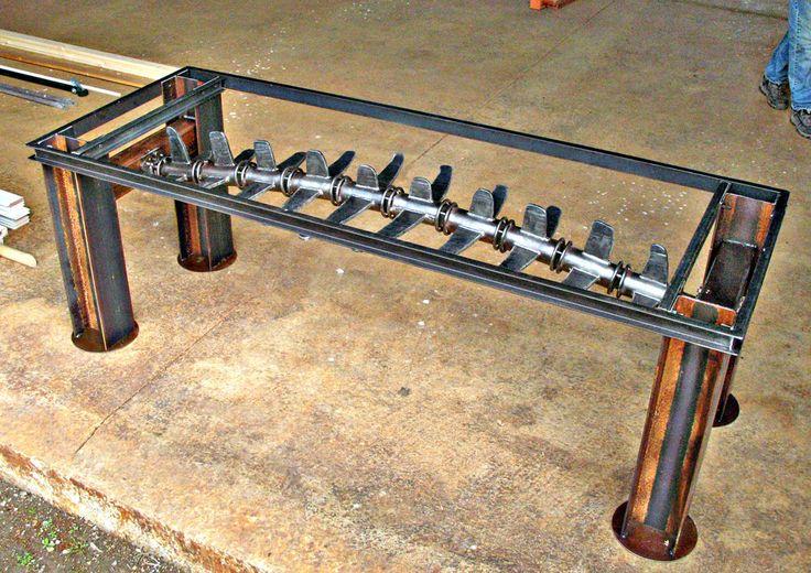 Vertebrae Conference Table by ou8nrtist2.deviantart.com on @deviantART