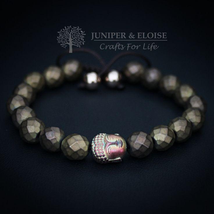 Buddha Bracelet, Unisex Bracelet, Chakra Bracelet, Unisex, Yoga Bracelet, Womens Bracelet, Mothers Day Gift, Om by JuniperandEloise on Etsy