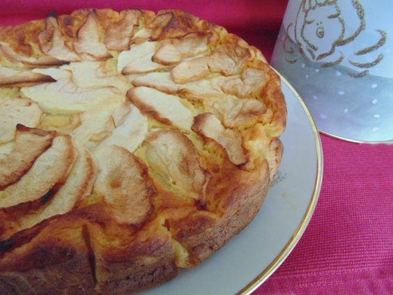 Torta di mele cremosa senza zucchero | La cucina di Katy