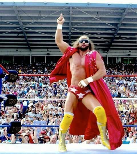 Macho Man Randy Savage!