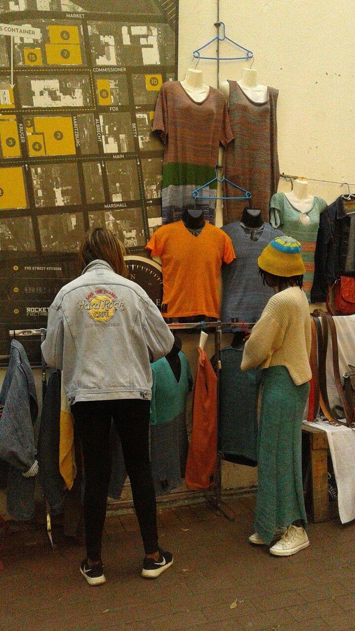 Every Sunday at the Maboneng Street Market.