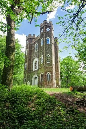 Severndroog Castle, Shooters Hill, London, is a folly situated in Oxleas Wood, it was designed by Richard Jupp in 1784, stop here for tea, with wonderful views.