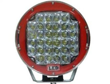 Driving, Work, Spot, Flood Light LED 160W  Operating Voltage: 10-30V DC  Waterproof rating: IP 67  32*5w high intensity Epsitar LEDs  Luminous Flux 13600lm  Optional Color: Black & Red  Color Temperature: 6000K  Material: Die cast aluminum housing  Lens material: PC  Mounting Bracket: Stainless Steel  Optional Beam: 60 or 30 degree  Expected Life 30000+ hours  Certificates: CE RoHs