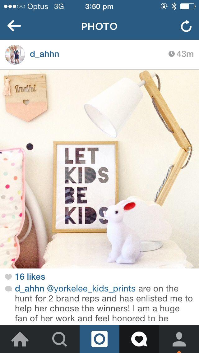 Let kids be kids print @yorkelee_kids_prints