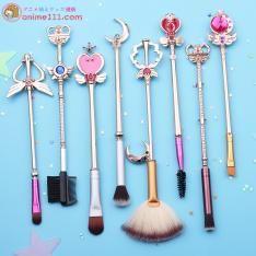 美少女戦士セーラームーン メイクブラシ 魔法少女ピンクかわいい8本セット メイクブラシセット 化粧ブラシセット 化粧ブラシ 化粧ブラシセット ギフト プレゼント 女性への贈り物萌え『美少女戦士セーラームーン』