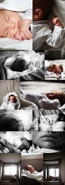 Newborn session.