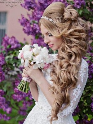Свадебная прическа и макияж в Европейском стиле. Wedding, brides